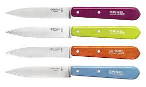 couteau cuisine opinel coffret de 4 couteaux n 112 couleurs acidulées opinel com