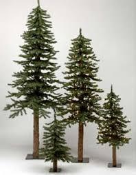 7 Foot Alpine Skinny Tree Country Christmas