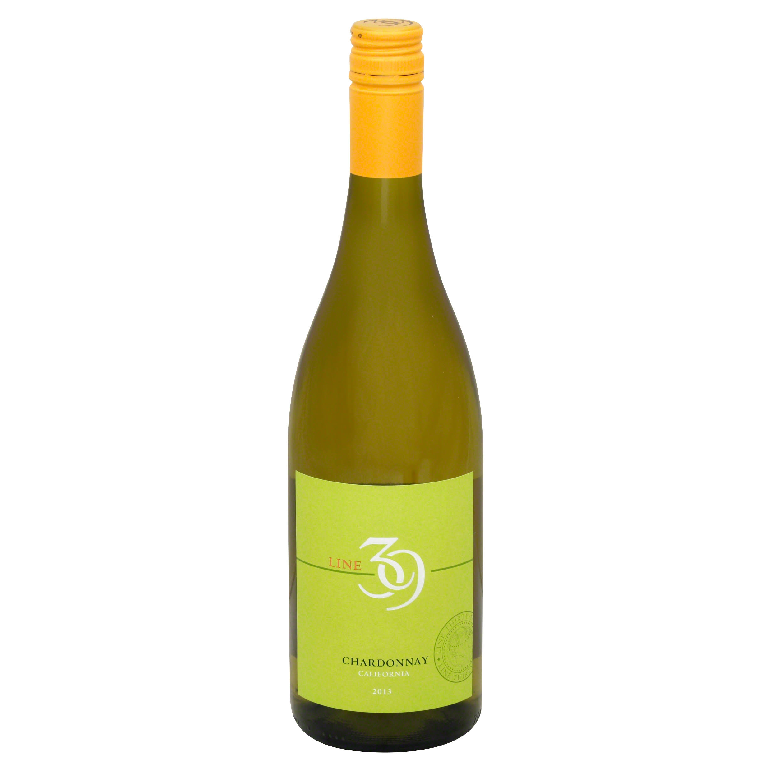 Line 39 Chardonnay, California, 2013 - 750 ml