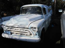 Projects - '57 Chevy Panel Truck Build