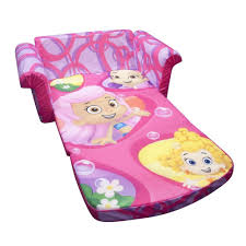 sesame street flip open sofa with slumber bag sofa