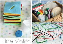 Homemade Fine Motor Toys
