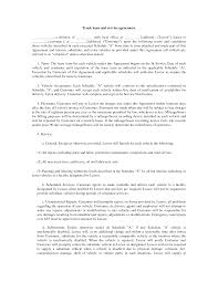 100 Commercial Truck Lease Agreement For Services Template Antabuse