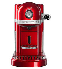 KitchenAid Nespresso Espresso Maker By Empire Red