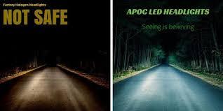 h1 apoc led headlight bulb conversion kit apoc industries
