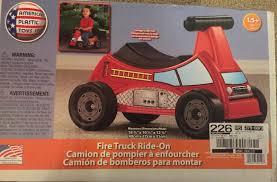 100 Fire Truck Ride On American Plastic Toys On EBay