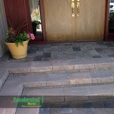 Statuary World Patio And Fireside by Weathered Tumbled Paver Patio 3 Stone Random Pattern Pavers