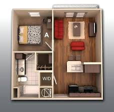 100 Sq Ft Bedroom Ideas Top Best Small Apartment Plans On Studio Part
