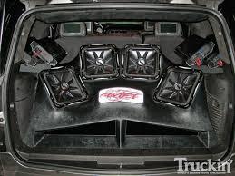 100 Truck Subwoofer Box Custom Fiberglass S