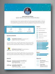 Plantilla Currículum Y Carta Presentación Fácil Edición Word IPages