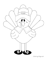 Thanksgiving Animal Coloring Pages