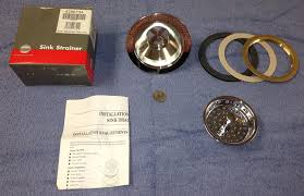 Install Sink Strainer Basket by Kitchenaid Heavy Duty Kitchen Chrome Sink Drain Strainer 4396734