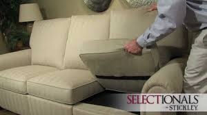 Stickley Audi Leather Sofa by Stickley400series 720p Mov Youtube