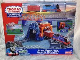 Trackmaster Tidmouth Sheds Youtube by Thomas And Friends Trackmaster Blue Moutain Gravel Delivery By