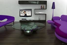 Grey And Purple Living Room Paint by Interior Decor Living Room With Purple Sofa Living Room