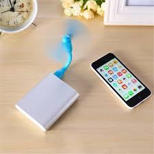 gadget pour bureau cool mini portable power bank usb ventilateur pliable amovible usb