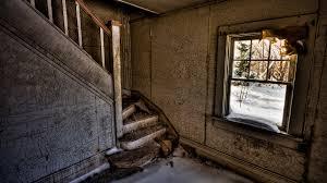 Wallpaper Window Street Abandoned Wall Wood House HDR