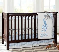 Sock Monkey Crib Bedding by Daniel Nursery Bedding Set Pottery Barn Kids