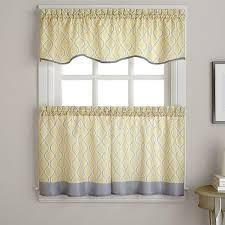 Boscovs Window Curtains by Morocco Woven Print Tiers Boscov U0027s