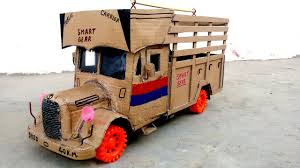How To Make A Truck || With Cardboard At Home || Classic Truck ...
