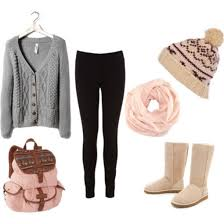 Hat Cardigan Leggings Ugg Boots Winter Beanie Backpack Bag Scarf Shoes Pom Jacket