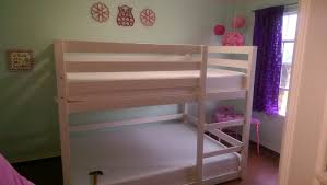 ana white full over full bunk bed diy projects