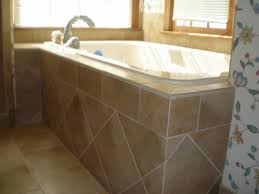 Tiling A Bathtub Skirt by Tile Works Bathtub Surrounds