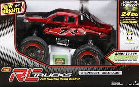 New Bright 1:10 R/C Full-Function 9.6V Colorado, Red - Walmart.com