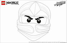 Coloriage Lego Ninjago Kai Frais Ninjago Coloring Pages For Kids