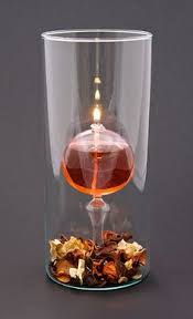 oil candles hand blown and handcrafted by glass dimensions party