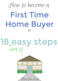 18 Steps For First Time Home Buyers