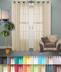 Amazon Outdoor Curtain Panels by Amazon Com Hlc Me 2 Piece Sheer Curtain Grommet Panels Aqua