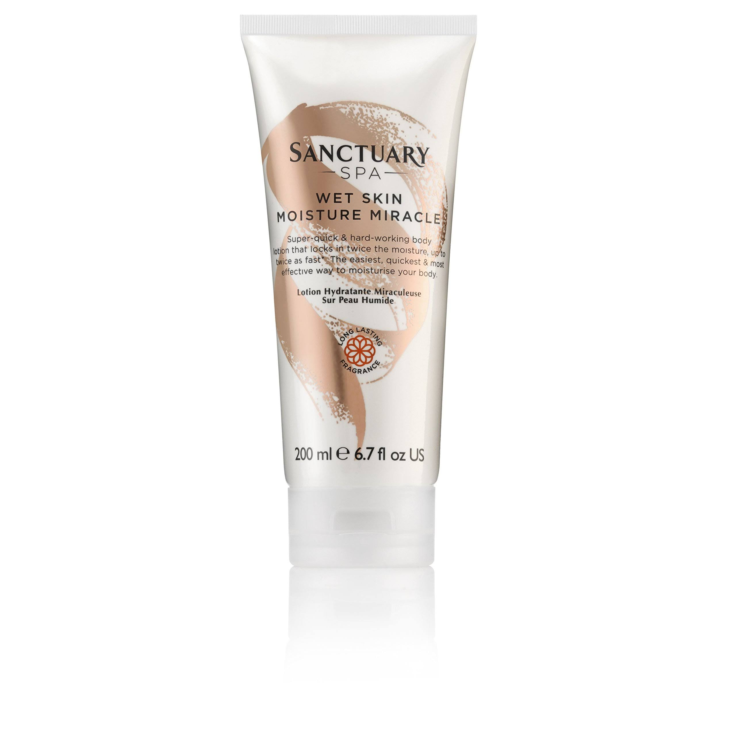 Sanctuary Spa Wet Skin Moisture Miracle Lotion - 200ml
