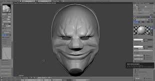 Payday 2 Halloween Masks by Quick Dallas Render From A Model I U0027m Making For My Halloween