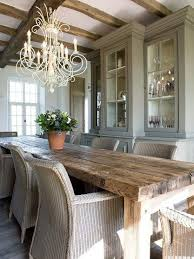 Calm And Airy Rustic Dining Room Designs 41