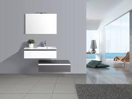 jindoli badezimmerschrank einfach waschtisch 2 schubladen