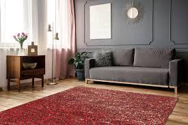 finish 100 rot gold wohnzimmer teppiche zaligo home