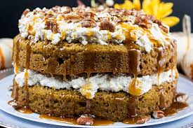 Pumpkin Spice Bundt Cake Using Cake Mix by Easy Pumpkin Cake With Cream Cheese Filling Don U0027t Sweat The Recipe