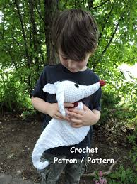 Nightmare Before Christmas Tree Topper Zero by Crochet Pattern Zero The Ghost Dog Plush Inspired By The Movie