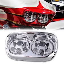 dual 7 daymaker led replacement road glide light bulb headlight