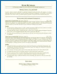 Objective For Resume Restaurant Manager Sample Supervisor