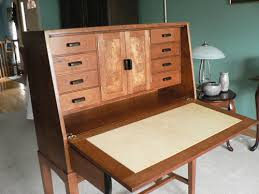 Drop Front Writing Desk by A Cherry Drop Front Desk Finewoodworking