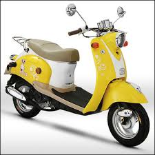 China ZNEN 2014 Popular Small 49cc Gas Vespa Scooter With Strong And Beautiful Wheel