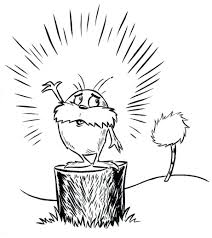 Coloring Pages Dr Seuss Green Eggs And Ham Pdf For Printable Lorax