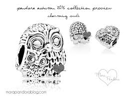 Pandora Halloween Charms by Review Charming Owls From Pandora Autumn 2016 With A Little
