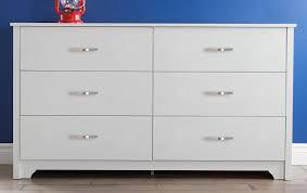 amazon com south shore furniture fusion dresser pure white