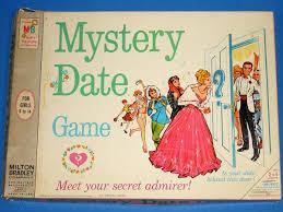 Milton Bradley MB Mystery Date Board Game 4502 Box Lid