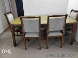 4 Seater Solid Wood Dining In Mint Condition