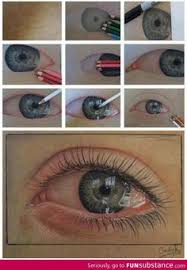 An Ultra Realistic Eye Drawn Using Just Pencils