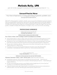 Lvn Resume Sample Nurse Objective Registered Practical Lovely Template Resumes Entry Level Examples